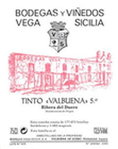 Valbuena 5 Ano Magnum 1,5 L - 2013 - Vega Sicilia