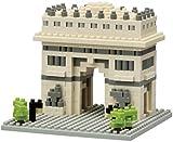 "nanoblock NAN-NBH075 ""Arc De Triomphe"" Building Set"