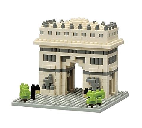 Nanoblock - NBH-075 - L'Arc de Triomphe - 480 pièces