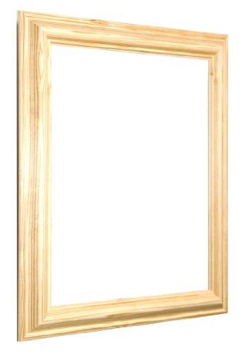 Tailored Frames-Bild und Foto Rahmen (alle Größen verfügbar)-Kiefer Natur (No 17)-24x 30cm (Große Foto-frame)