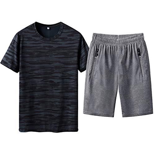 Männlich Vierteilige Sets Anzug Julywe Pyjama Anzug Sommer Modenschau Party Kleid Fashion Show Jumpsuit Schicker Overall Herren Kleidung