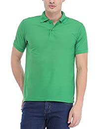 Trendy Trotters Green Polo Cotton T-Shirt