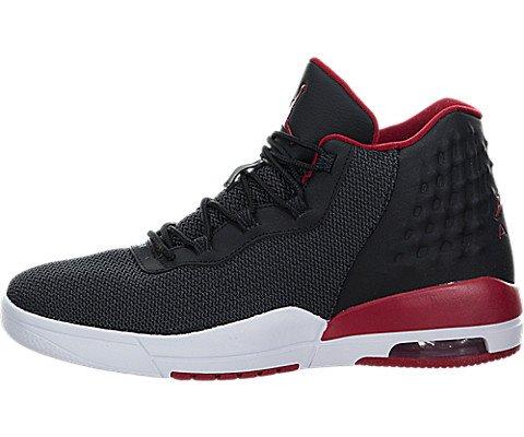 Jordan - AIR JORDAN ACADEMY BG - Basketball Sneaker - Schwarz / Rot