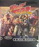 STREET FIGHTER 3 RING BINDER FOR 9 POCKET PAGES