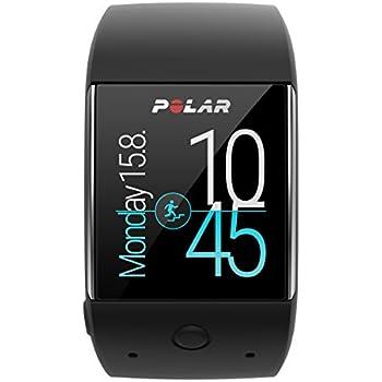 Polar M600 Smartwatch Orologio GPS con Cardiofrequenzimetro Incluso, Monitoraggio Attività Fisica e Funzioni Polar Smart Coaching, Nero