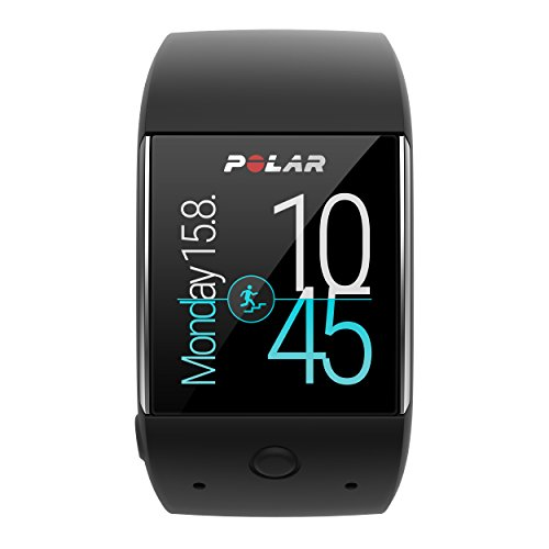 Polar M600 Sportuhr Powered by Android Wear M/L schwarz