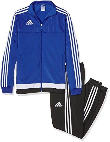 adidas Herren Sportanzug Tiro15 pes suit, bold blau/Weiß/schwarz, XS, S22291