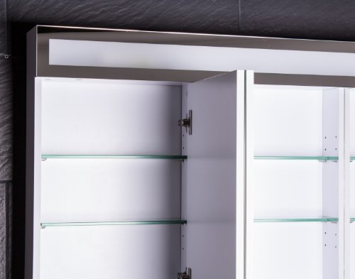 ▷ LED Spiegelschrank Badezimmer - Galdem EVEN 120 cm