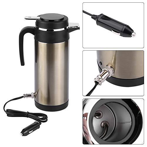 1200ML 12 V / 24 V Edelstahl Elektrische In auto Wasserkocher Reise Thermos Heizung Wasserflasche Elektrische Thermos(12V)