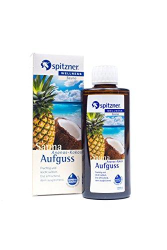 Preisvergleich Produktbild Spitzner Saunaaufguss Wellness Ananas-Kokos (190ml) Konzentrat