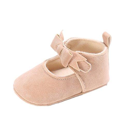 Rosa Sole Baby Prewalker 18m mädchen Schuhe schuhe Heißes erste 12 baumwollkrippe Wanderschuhe Beige Auxma 13cm Baby kleinkind weiche EXwafE6q