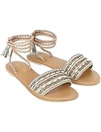Monsoon Sandales à lacets joliment décorées Janelle - Femme