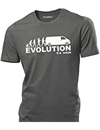 iClobber VW T4 Panel Van Evolution mens T Shirt