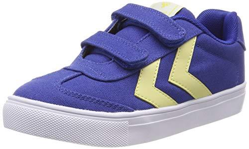 hummel Unisex-Kinder HOP JR Sneaker, Blau (Nebulas Blue 7010), 26 EU