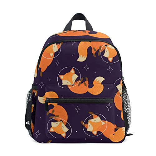 CPYang Kinder Rucksack Galaxy Planet Animal Fox