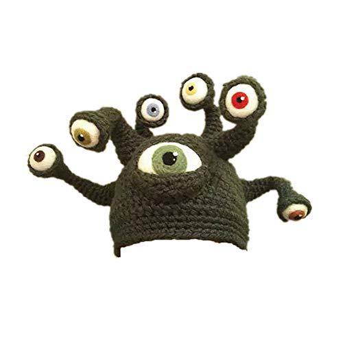LYY.YY Männer Und Frauen Farbabstimmung Kuppel Oktopus Octopus Hut Halloween Handarbeit Ging Kleidungsshow Octopus Tentakeln (Jester Hut Kostüm)