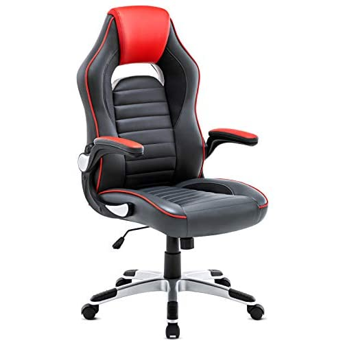 IntimaTe WM Heart Gaming Chair, High Back PU Executive Office Chair Swivel Desk Chair Ergonomic Design, Adjustable…