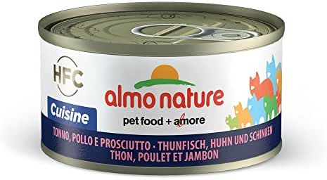 Almo Nature : Aliment Almo Hfc Chat Thon Poulet Jambon 70g