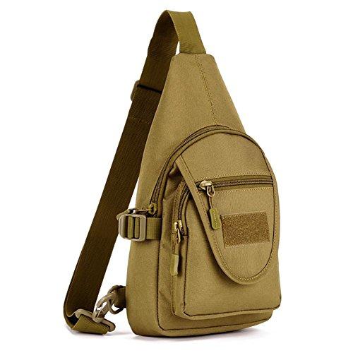 Outdoor-Reisen Männer und Frauen kleiner Kasten Tasche Reit Rucksack Tasche Nylon 18 * 34 * 10cm 1