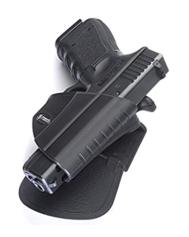 Fobus Concealed Carry Thumb Release Paddle Holster for Glock 17/19/22/23/34/35