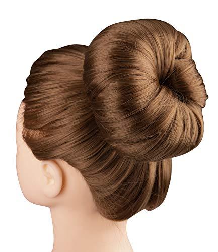 Maker Kostüm Bun - SIX Dutt Hilfe, Maker, Brötchen, Haarband, für Blondes Haar, für Dutt Frisuren, Haar Accessoire (456-587)