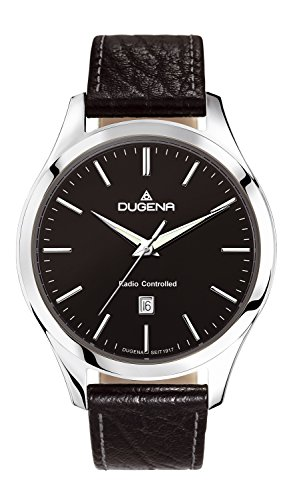 Dugena men's Quartz Watch Analogue Display and Leather Strap 4460550