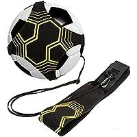 Faviye - Cinturón de entrenamiento de fútbol, correa elástica ajustable para niños y adultos