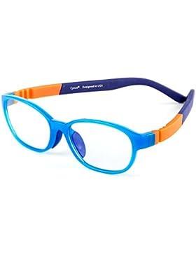 Cyxus TR90 leggerissimi flessibile luce blu filtro occhiali per i bambini [trasparente lente] anti affaticamento...