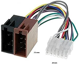 Adapterkabel Iso Stecker Für Autoradio Pioneer 12 Pin Auto