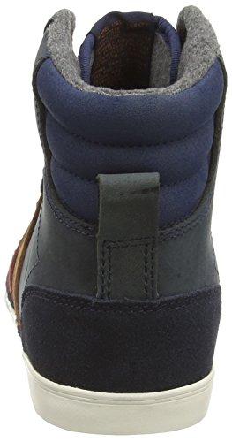 Hummel Hummel Slimmer Stadil Oiled Hi, Sneakers Hautes mixte adulte Bleu (dress Blue / Cabernet / Glazed Gin 8582)