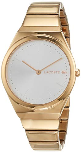 Lacoste Womens Analogue Classic Quartz Watch with Rose Gold Strap 2001055