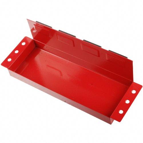 Werkstattwagen Magnet Ablage / Dosenhalter / Magnetteller für Werkzeuge wie Steckschlüssel, Schraubendreher und Spraydosen (Magnetbehälter) 360 mm - 2