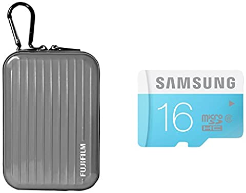 Inov8 Compact Camera Kit includes Inov8 Aluminium Silver Tough Case & Samsung 16GB Standard Micro SDHC Class 6 Memory