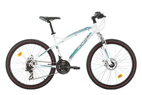 "Bikesport GTS Bicicletta Mountain Bike 26"" ,Altezza telaio: 45 cm, Shimano 21 cambios"