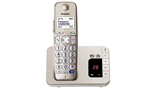 Panasonic KX-TGE220GN Großtasten-Schnurlostelefon