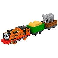 Thomas & Friends FJK56 Nia and the Elephant, Thomas the Tank Engine Toy Engine, Big World, Big Adventure Movie Toy Engine