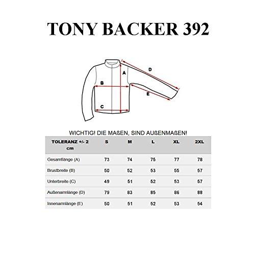 BOLF – Veste – Fermeture éclair – TONY BRACKER 392 – Homme Bleu foncé
