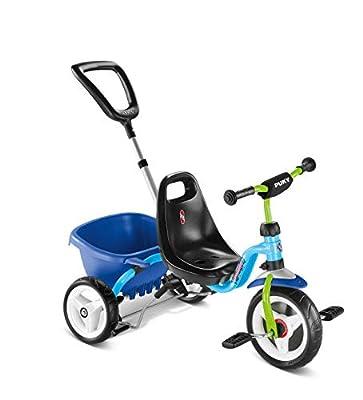 Puky CAT 1 S Kinder Dreirad blau/grün