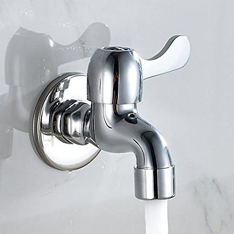 Into il muro di una singola fredda rubinetti antigelo Mop