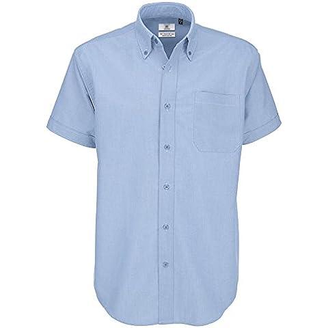 B&C Collecton -  Camicia classiche  - Con bottoni  - Uomo