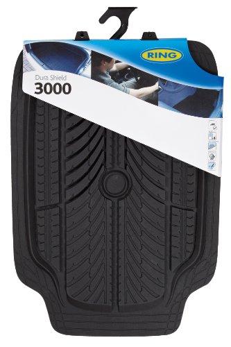 Ring Automotive RMAT15 Dura Shield 3000, Black, Set of 4