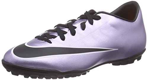Nike Mercurial Victory V Tf Scarpe da calcio allenamento, Uomo, Argento (Silber (Silber/Schwarz)), 42.5 EU