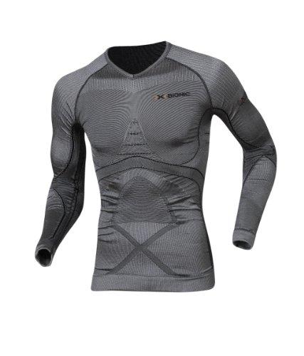 X-Bionic Herren Shirt Radiactor Shirt Long Men's, iron/black, L/XL, I 20163