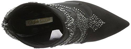 Buffalo David Bitton Rk 1507-040 Imi, Bottes Classiques Femme Noir (Black 01/Black 01)