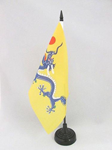 AZ FLAG Bandera de Mesa del DRAGÓN Chino 21x14cm - BANDERINA de DESPACHO del Dragon DE China 14 x 21 cm