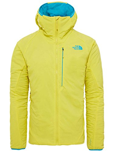 North Face M ventrix Hoodie Sweatshirt, Herren, Gelb – (Acid Yellow/Algiers Blue)