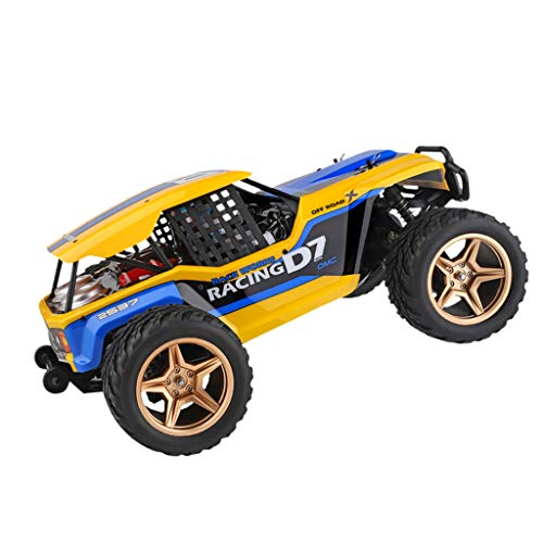 TwoCC Rc Car, Wl12402-A 1/12 45 Km/H 4Wd Veicolo Elettrico Fuoristrada Ad Alto Deserto con Velocità a Quattro Ruote Rc Desert Buggy Giocattoli per Auto Elettrich