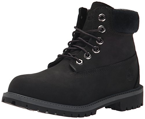 Timberland - Premium Boot - Mixte Junior Noir/Nubuck