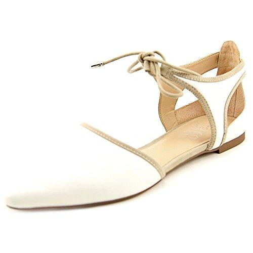 franco-sarto-shaker-donna-us-8-bianco-ballerine