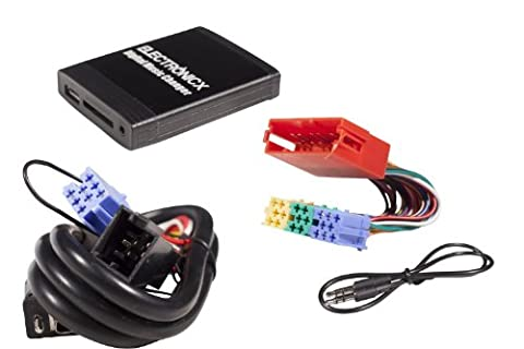 USB MP3 AUX SD CD Bluetooth kit mains libres Interface Adaptateur autoradio Audi 8 Pin plus 20 Pin Adapter Chorus 2, Concert 1, Concert 2, Delta (nicht für Delta CC), Symphony 1, Symphony 2, Navigation Plus 1 und 2 AUDI A3 A4 A5 A6 A8 TT Electronicx®